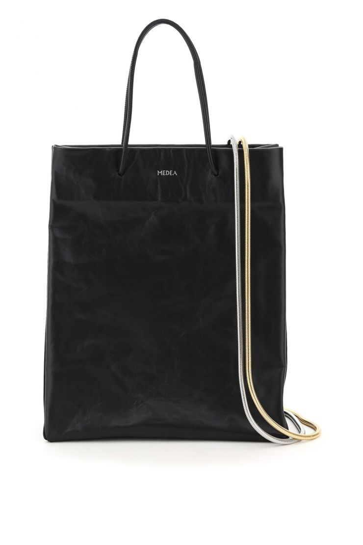 medea bra361 medea busted tall leather tote