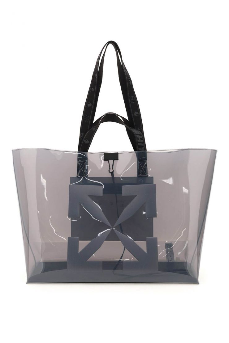 off-white tote bags pvc tote bag with logo