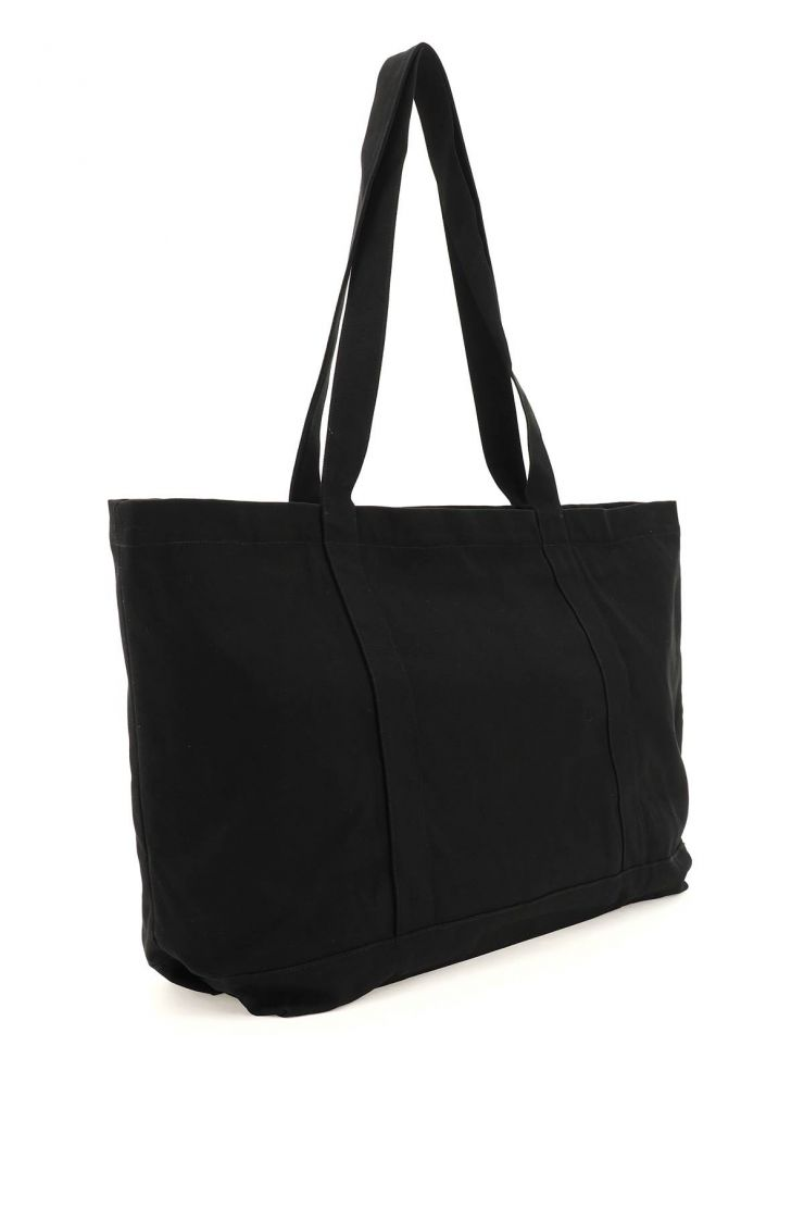 raf simons tote bags canvas oversize tote bag