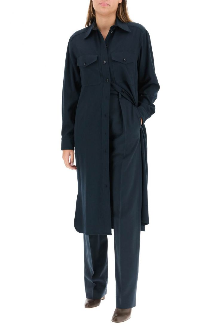 lemaire trousers high-waisted trousers