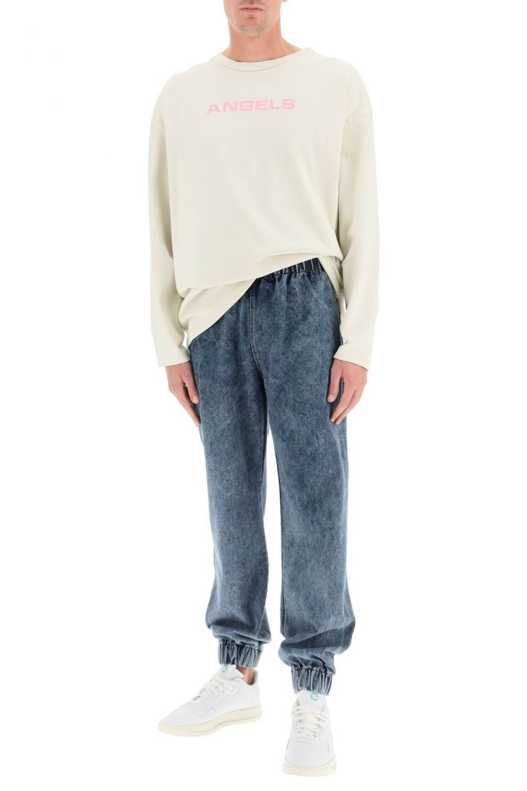 liberal youth ministry trousers denim jogger pants