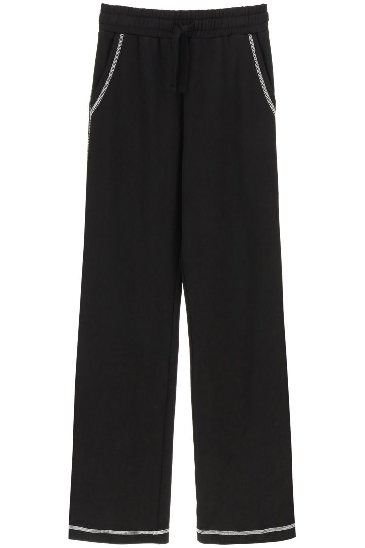 red valentino fashionable fitness  joggers with contrast stitching