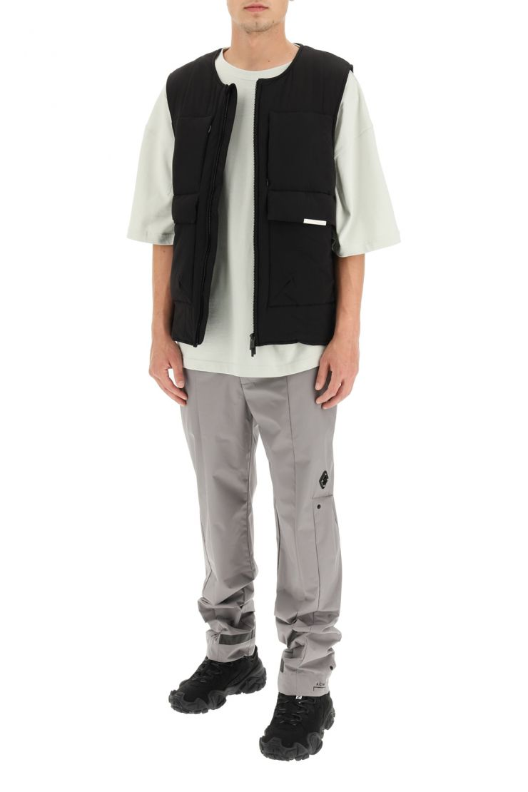a cold wall vests panel vest with zip