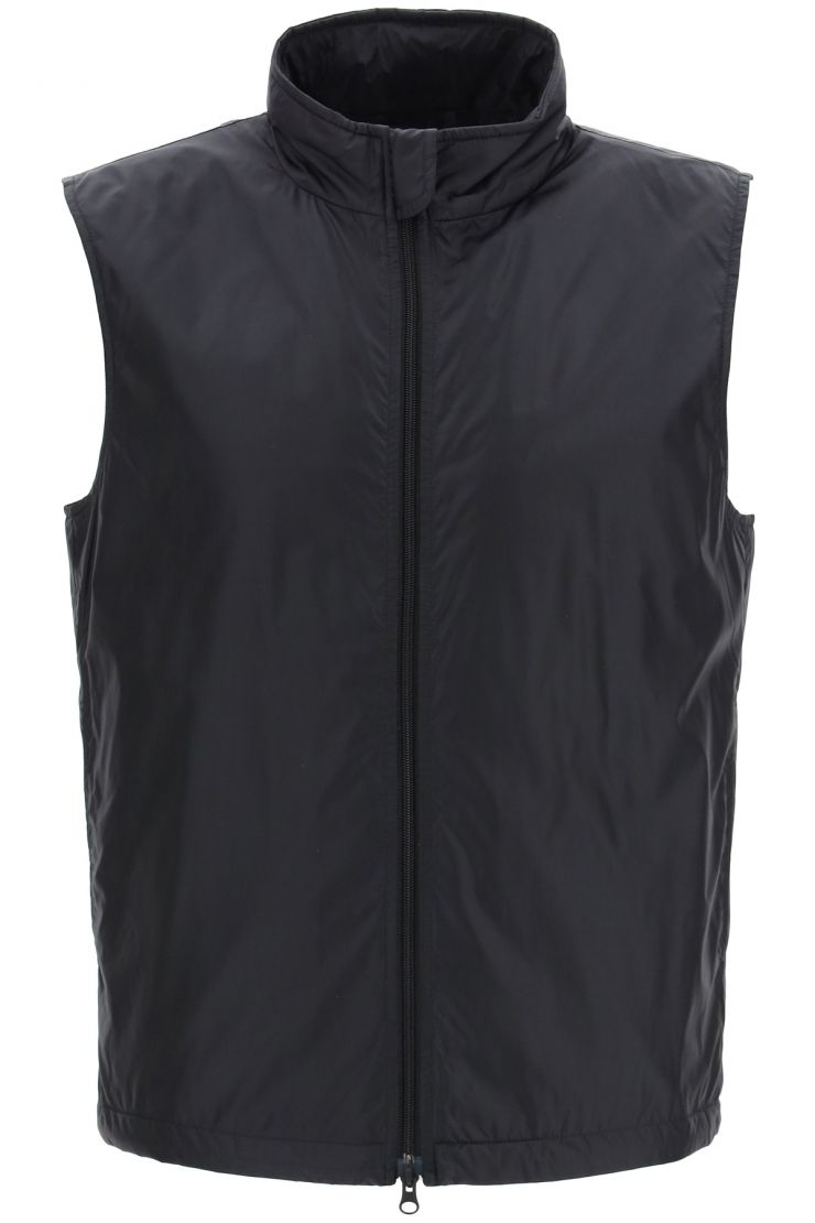 aspesi vests vernes vest with thermore padding