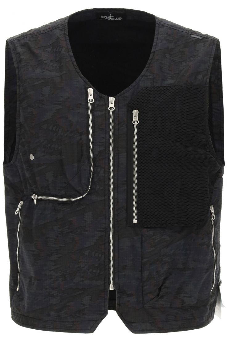stone island shadow project vests utility vest