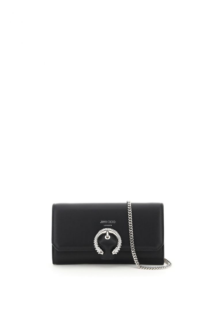 jimmy choo wallets wallet with chain