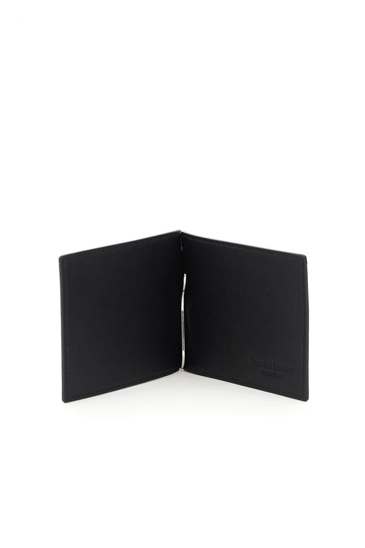 off-white wallets for money print quote clip wallet
