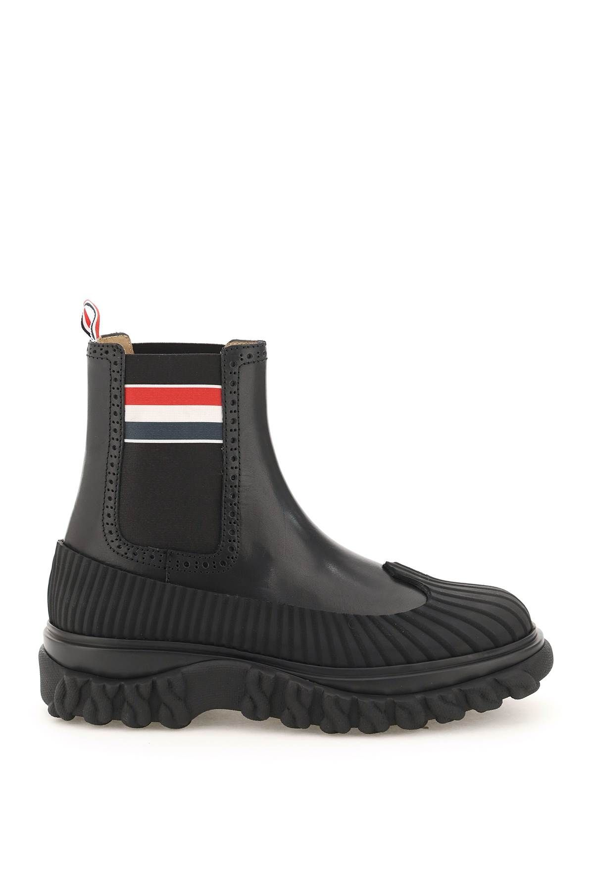 thom browne shoes men longwing duck chelsea boots