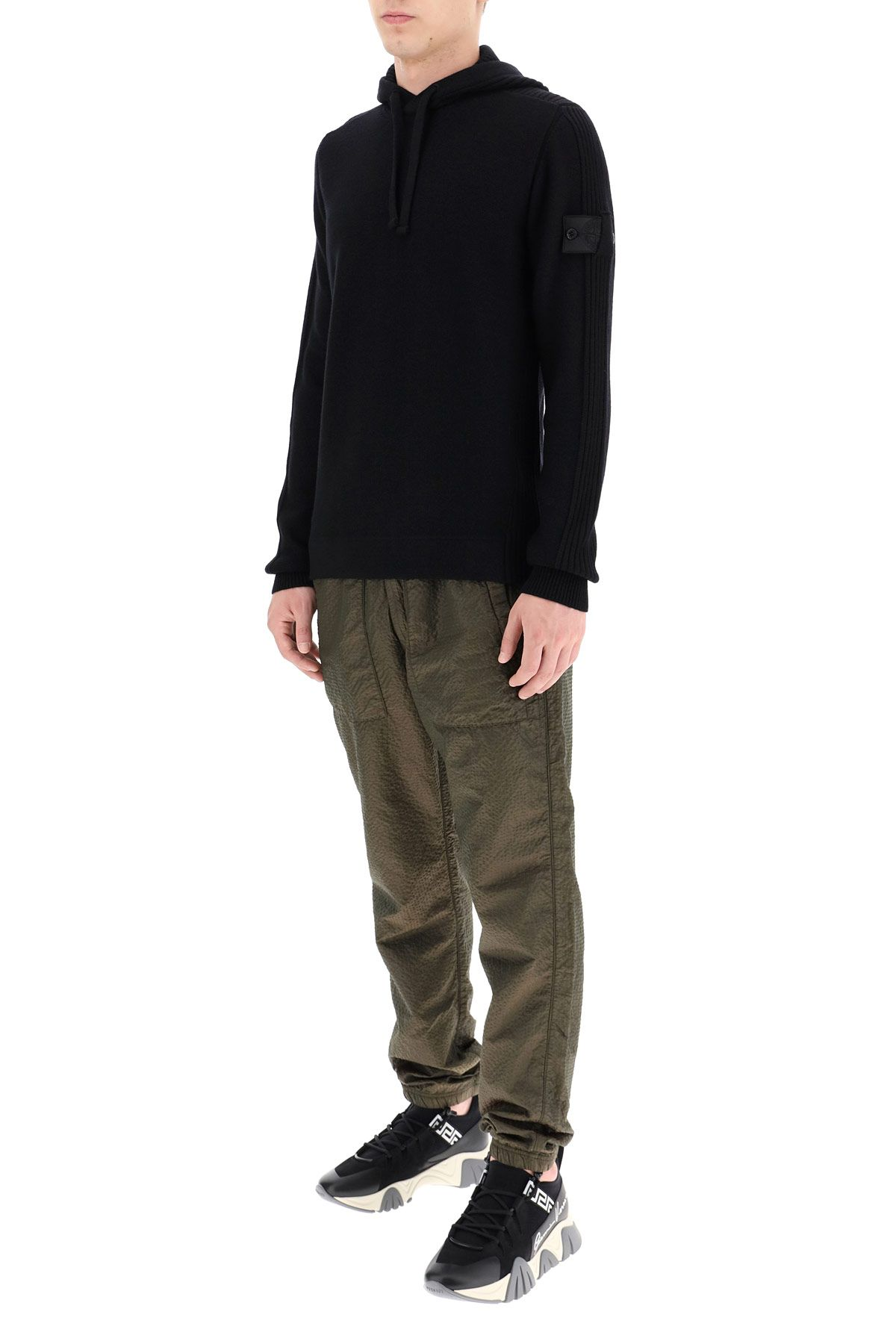 stone island shadow project clothing men hooded sweater