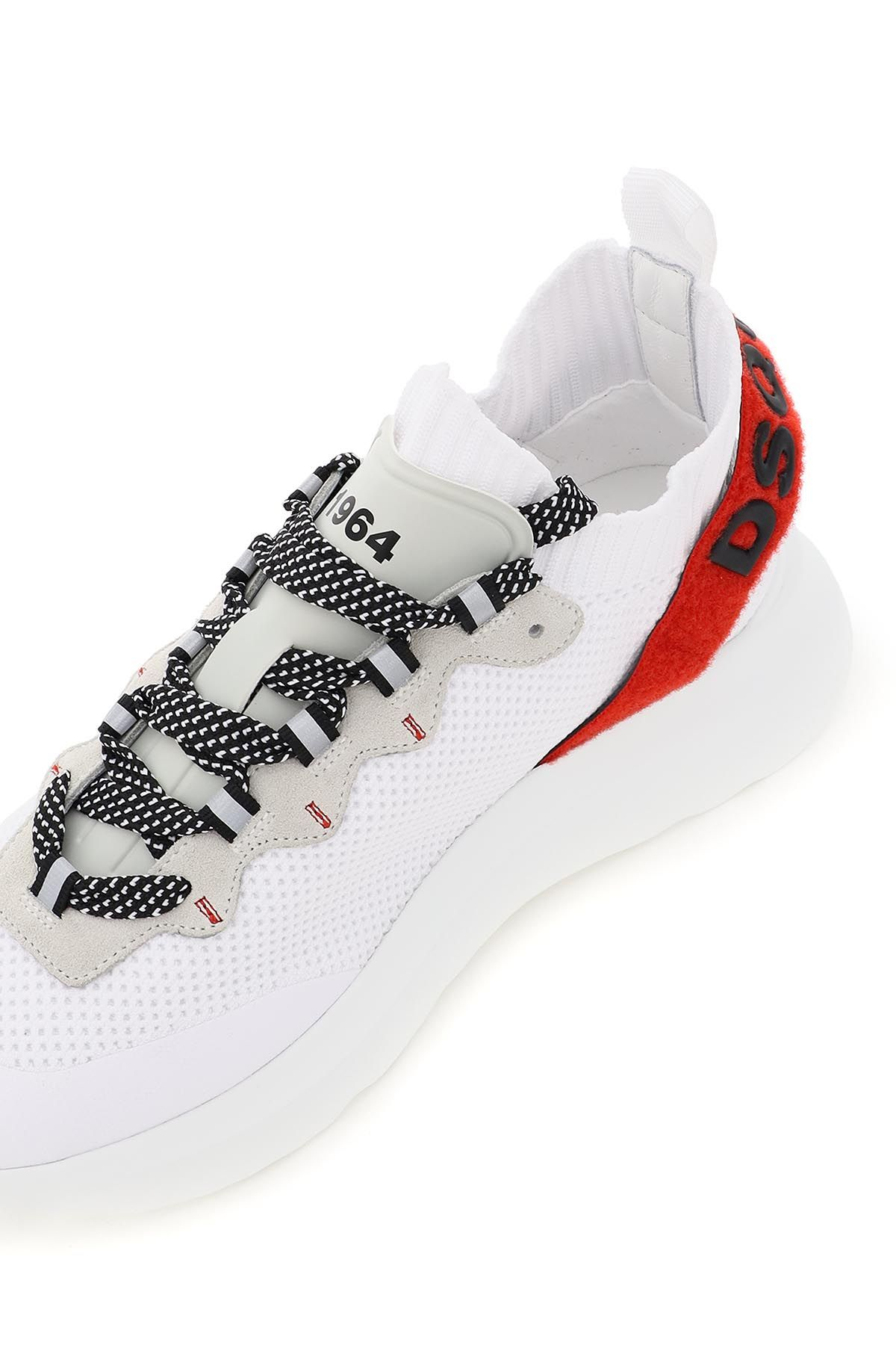 dsquared2 shoes women speedster knit sneakers
