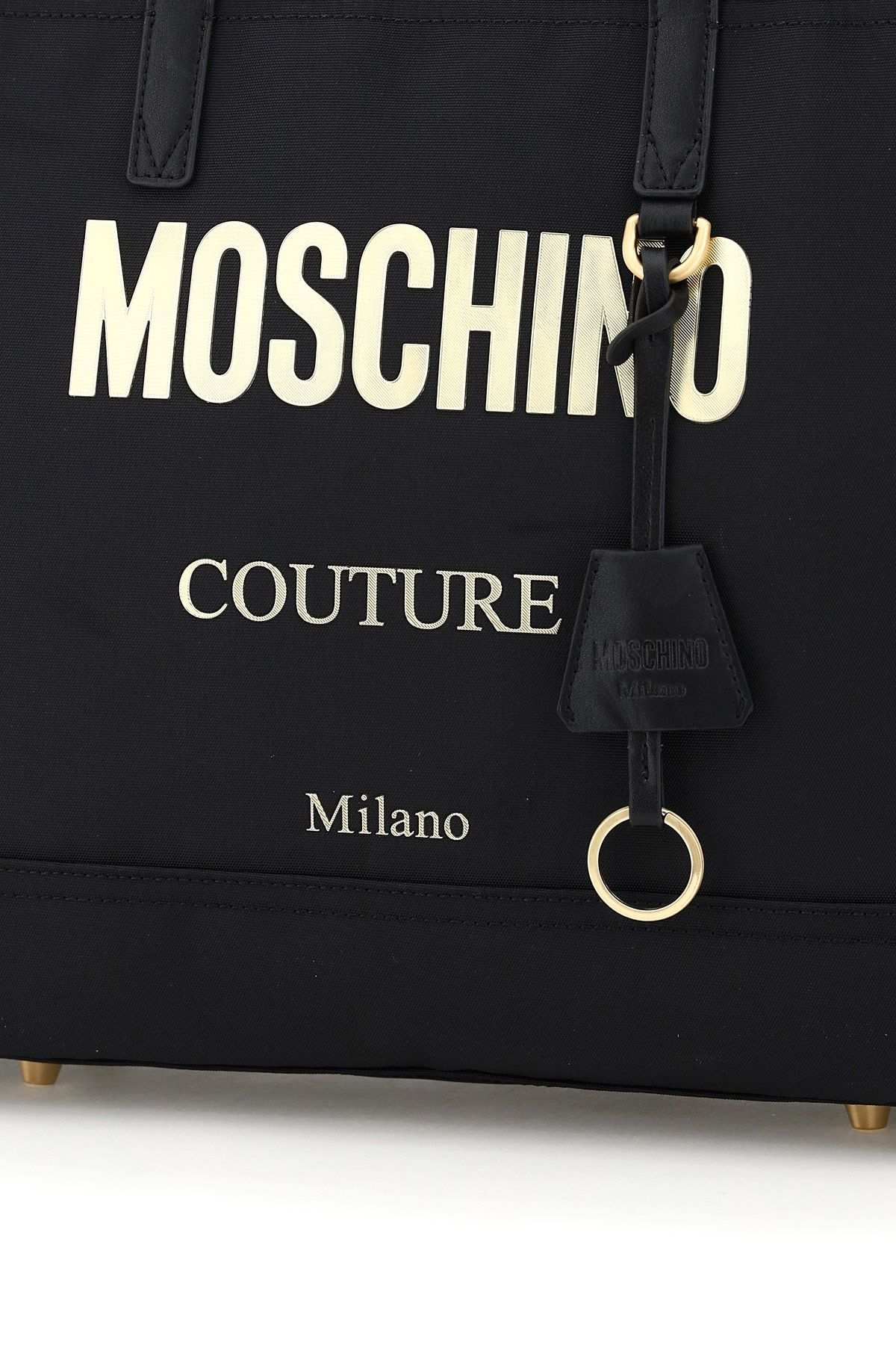 moschino bags women moschino couture canvas tote bag