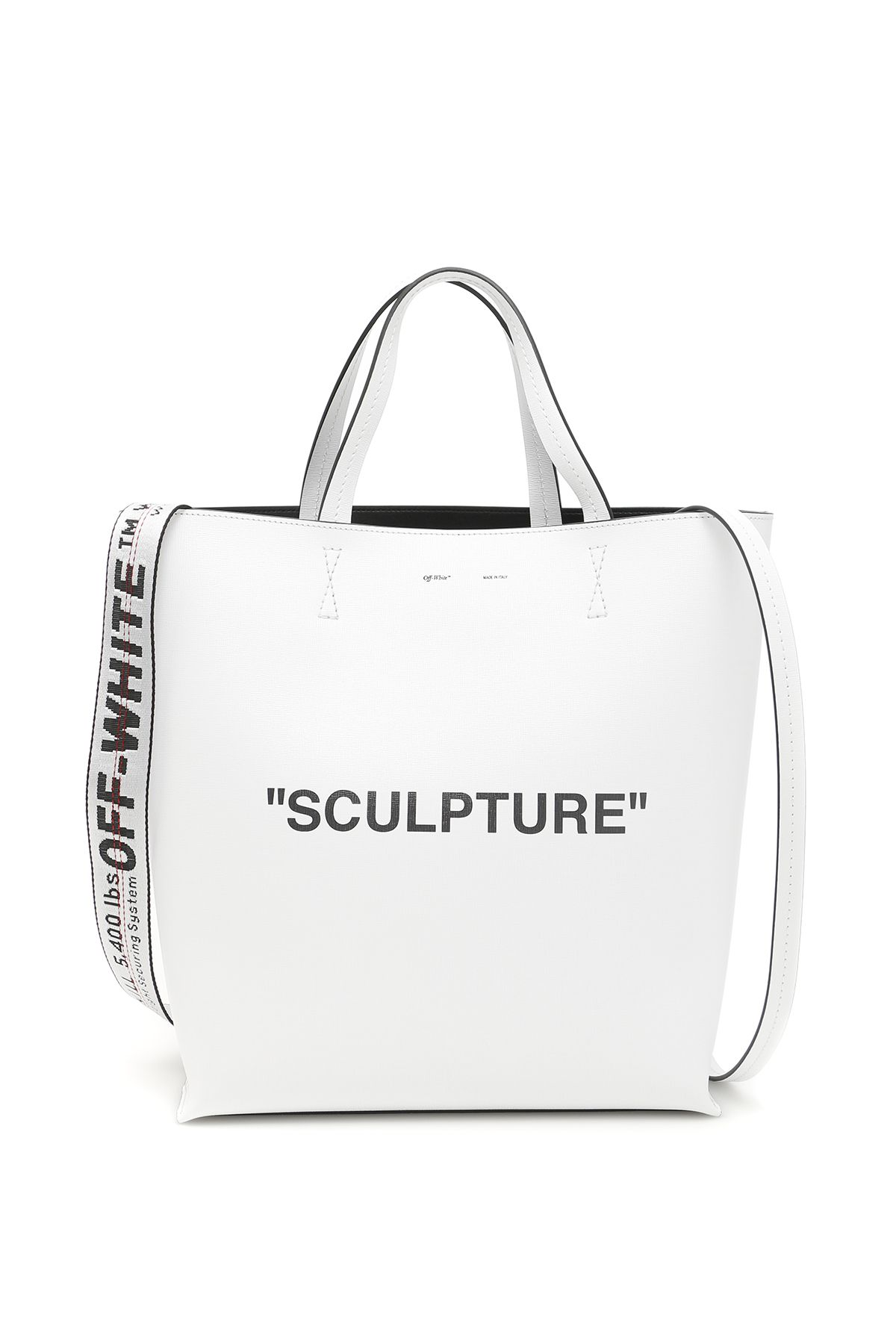 off-white bags women large sculpture tote bag