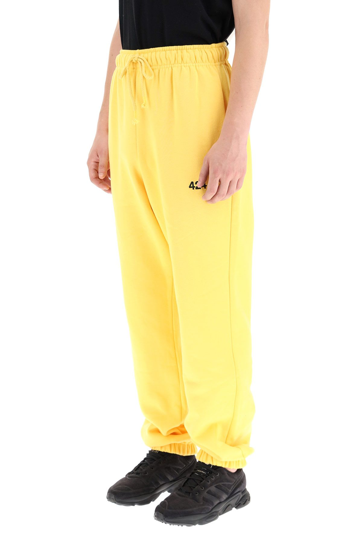 424 clothing men sweatpants with logo embroidery