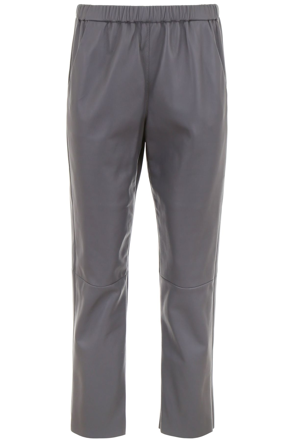 drome clothing women leather trousers