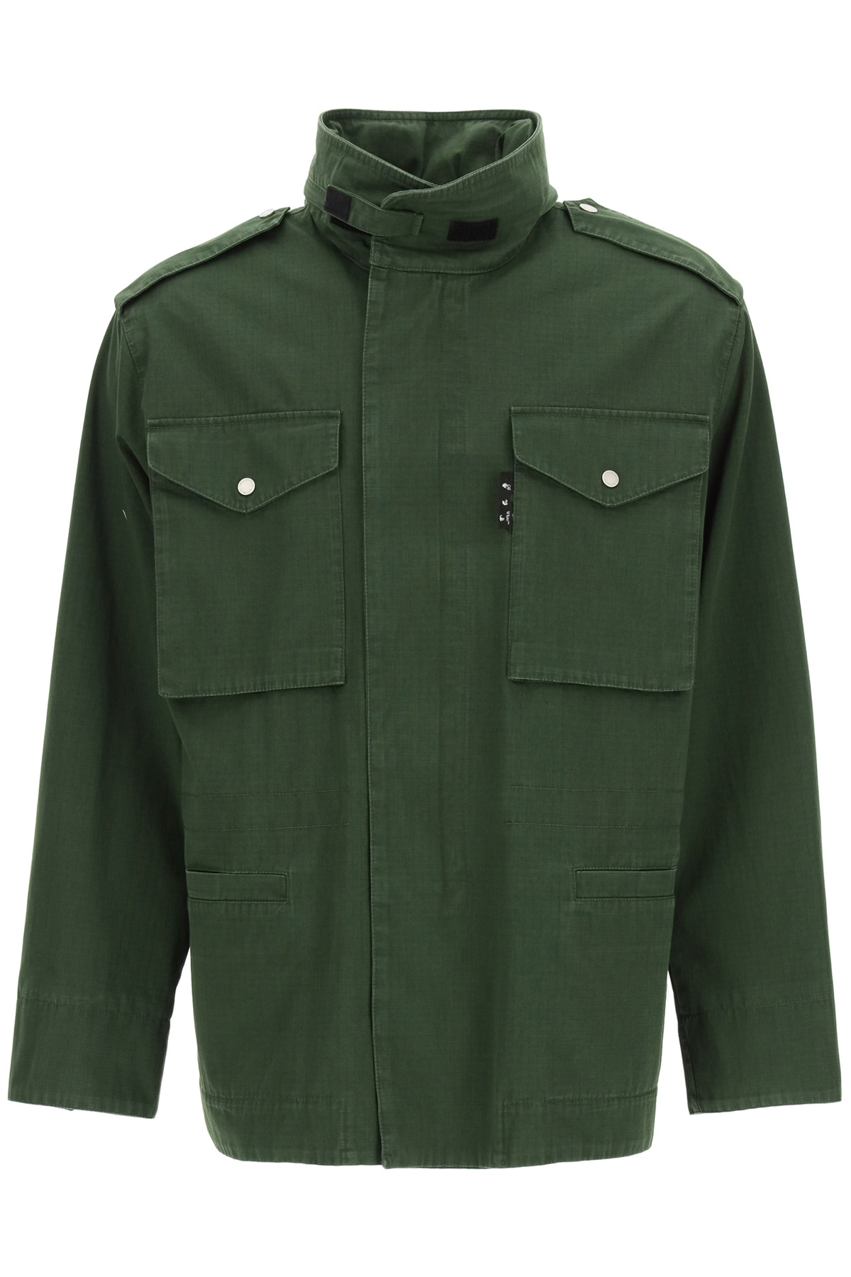 OFF-WHITE COTTON FIELD JACKET L Green Cotton