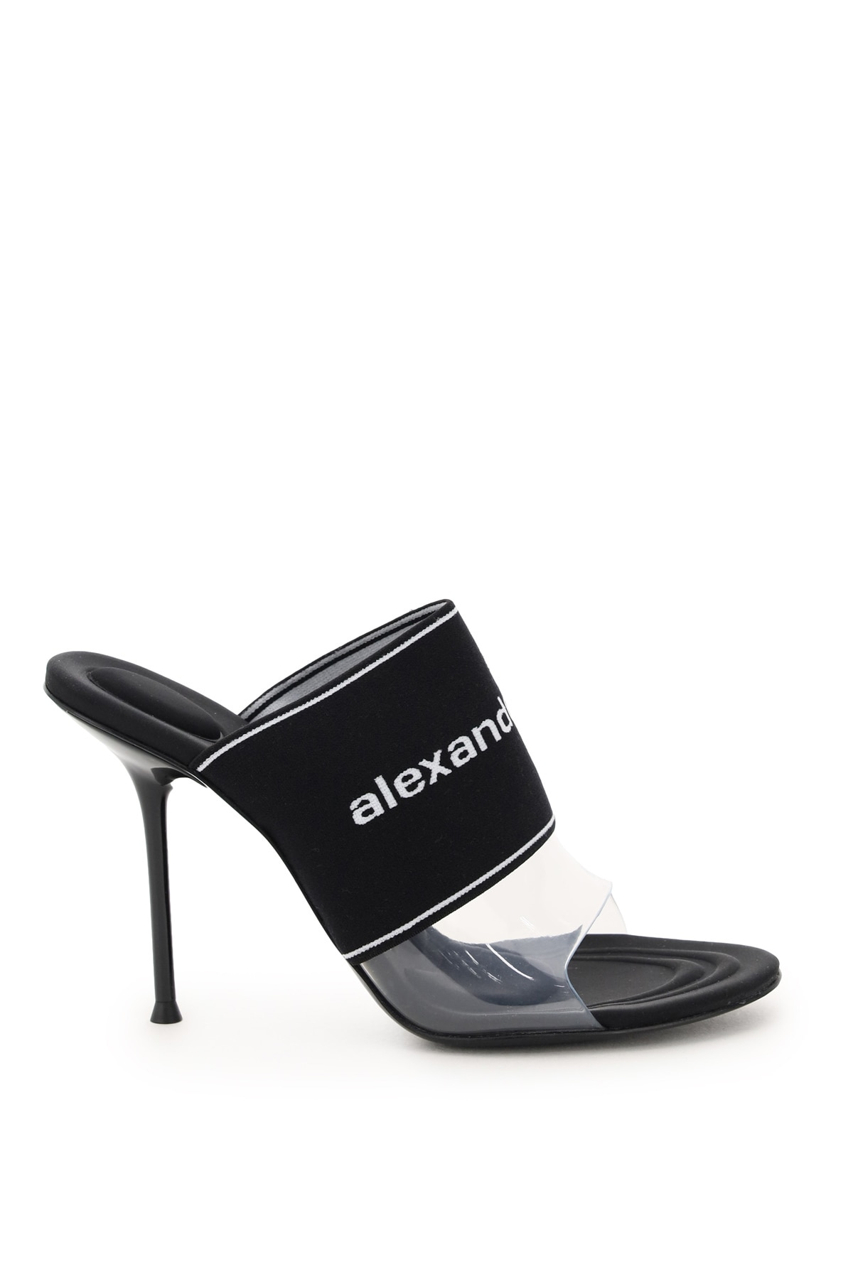 Alexander Wang Sandals SIENNA MULES WITH LOGO