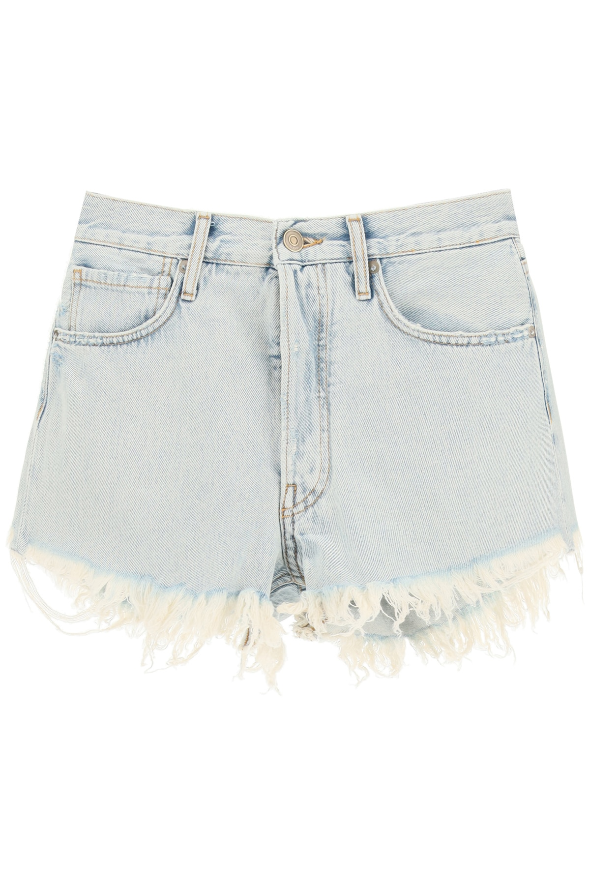 ALANUI SAN PEDRO DENIM SHORTS 27 Light blue Cotton, Denim
