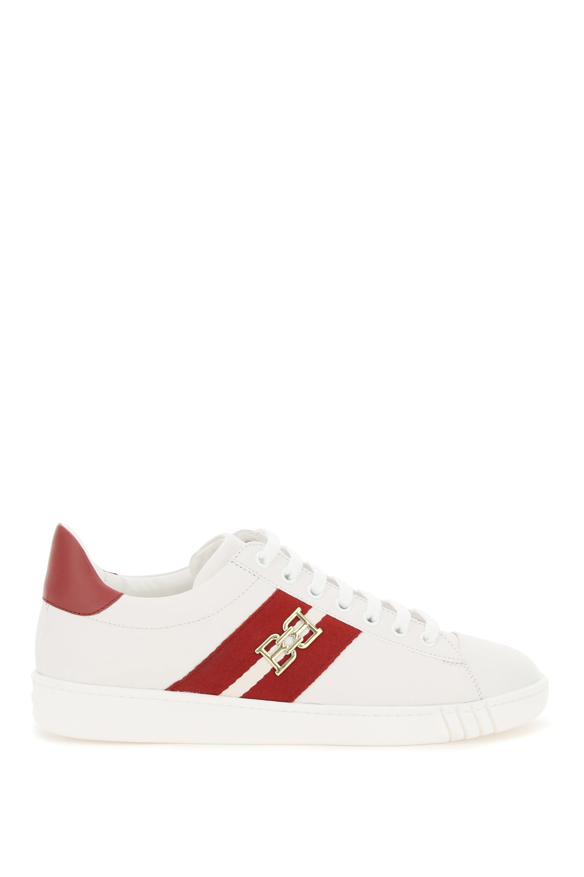 BALLY VIKY SNEAKERS 37 White, Red Leather