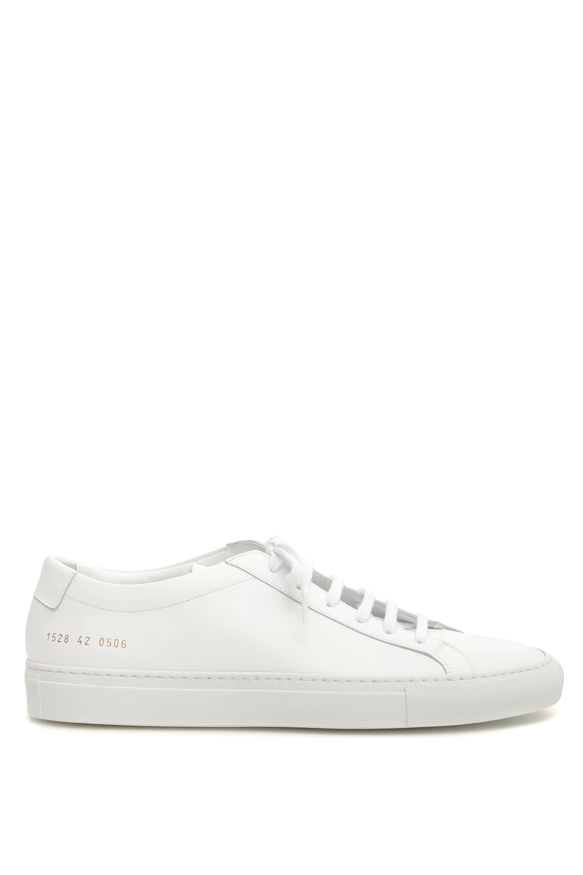 COMMON PROJECTS ORIGINAL ACHILLES LOW SNEAKERS 44 White Leather