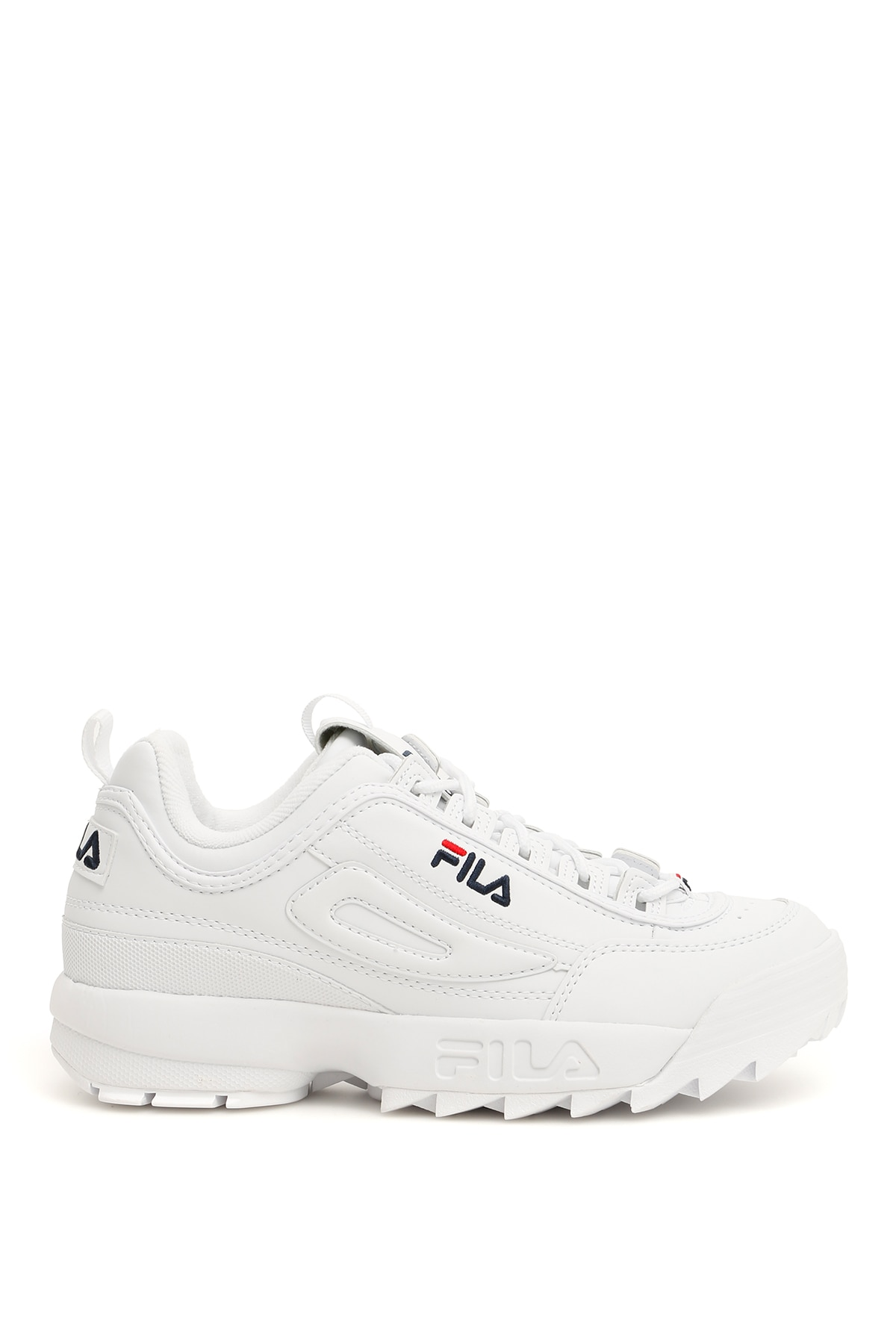 FILA DISRUPTOR SNEAKERS 9 White Faux leather