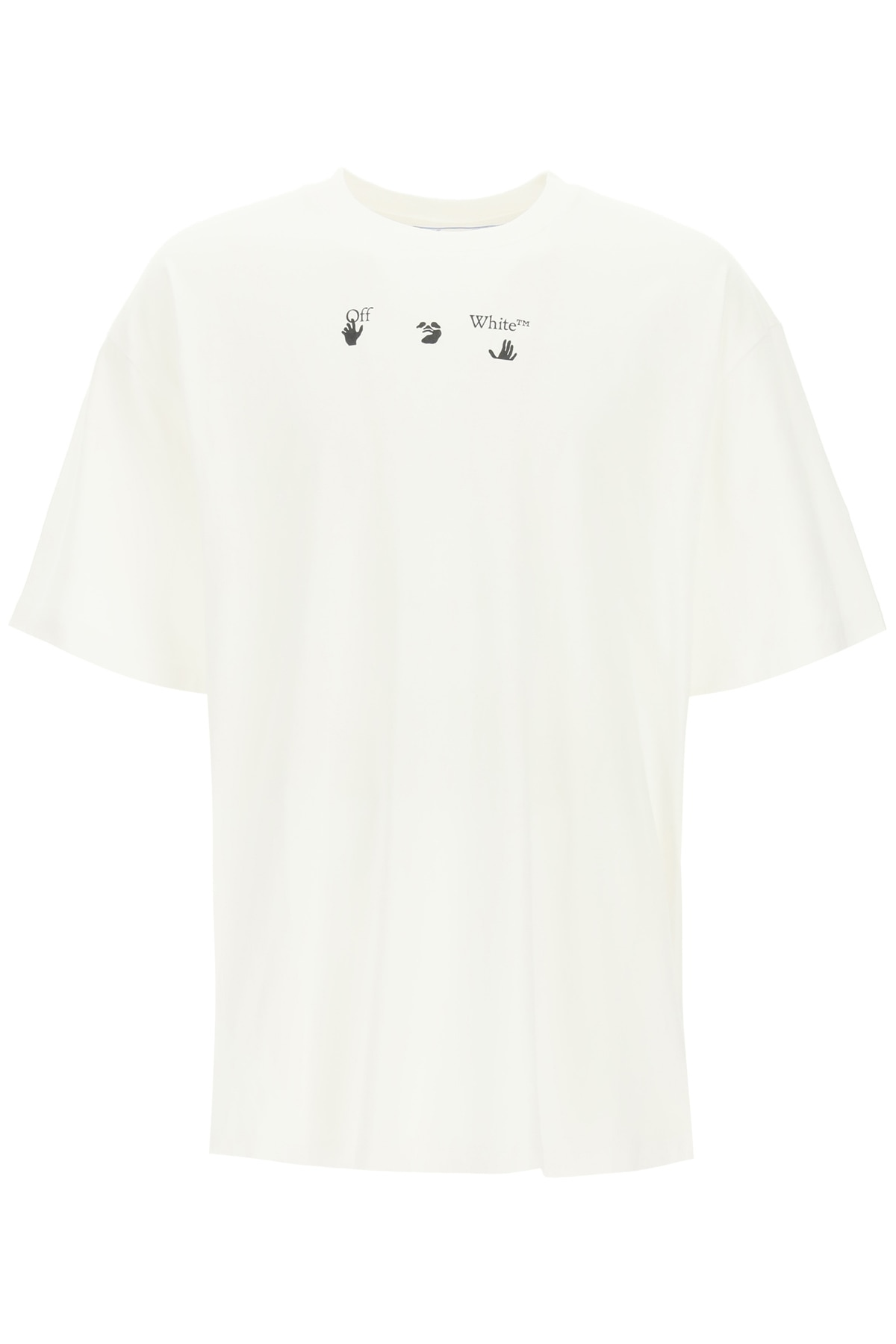 Off-White Cottons ARROWS MARKER PRINT OVERSIZED T-SHIRT