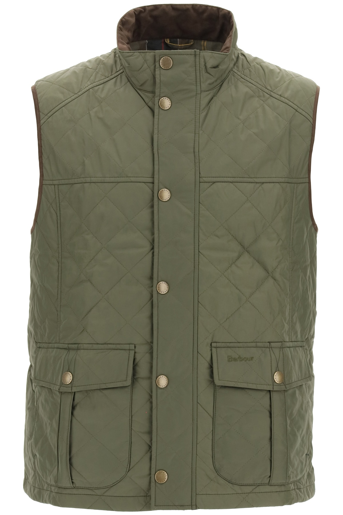 BARBOUR EXPLORER VEST S Green Technical